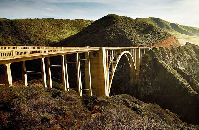 The Bixby Bridge is an iconic feature of the Pacific Coast Highway in Big Sur. | California Tourism Commission photo