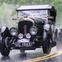 British couple drives 1927 Bentley from sea to shining sea across US