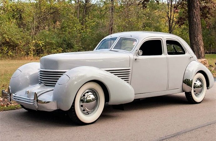 Full-classic 1937 Cord 810 Westchester in driver condition