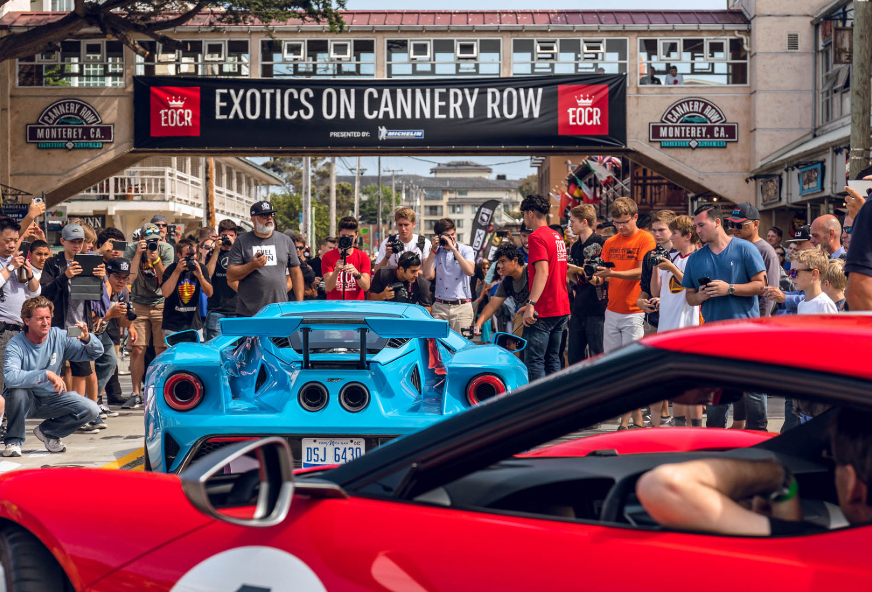 Get ready to see some crazy cars at Exotics on Cannery Row. | Exotics on Cannery Row photo