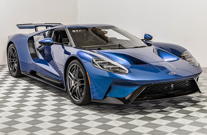 Unencumbered Ford Gt Once Owned By John Cena To Be On Monterey Block