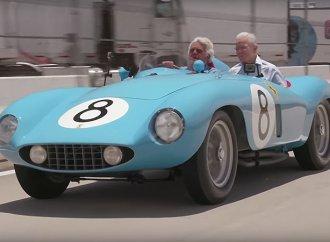 Ferrari 500 Mondial hits Leno's garage before Pebble Beach sale