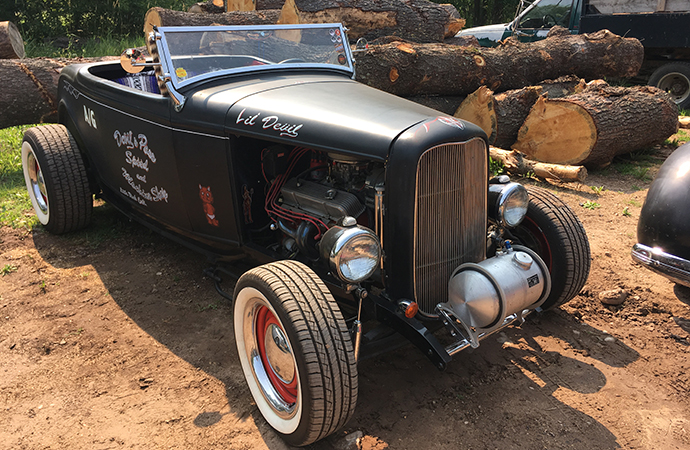 The Lil' Devil was one of a long list of hot rods at the event. | William Hall photo