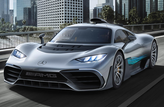 Like the Ford with the GT, Mercedes-AMG will block Project One owners from buying the limited-run supercar and flipping it for a profit. | Mercedes-Benz photo