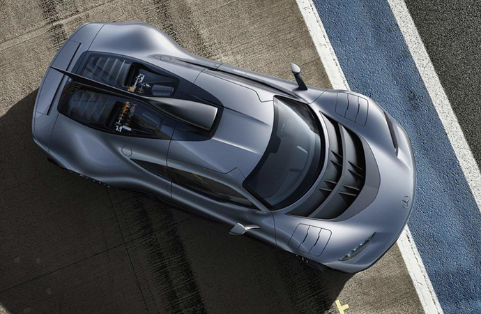Prototypes of the Project Once are being tested in secret. | Mercedes-Benz photo