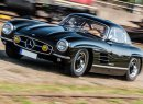 This unique custom 1955 Mercedes 300SL Gullwing coupe was stolen from a hotel near the famed Nürburgring race track in Germany on August 11. | Remi Dargegen Photography photo