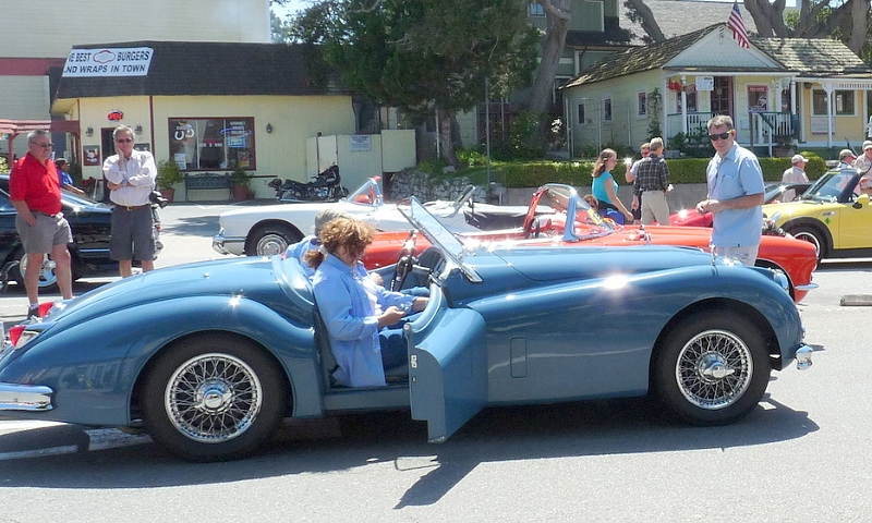 Cars of all sorts will partake in the Pacific Grove Concours Auto Rally. | Pacific Grove Concours Auto Rally photo