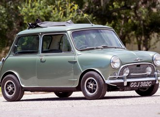 Paul McCartney's custom Mini Cooper hitting the auction block