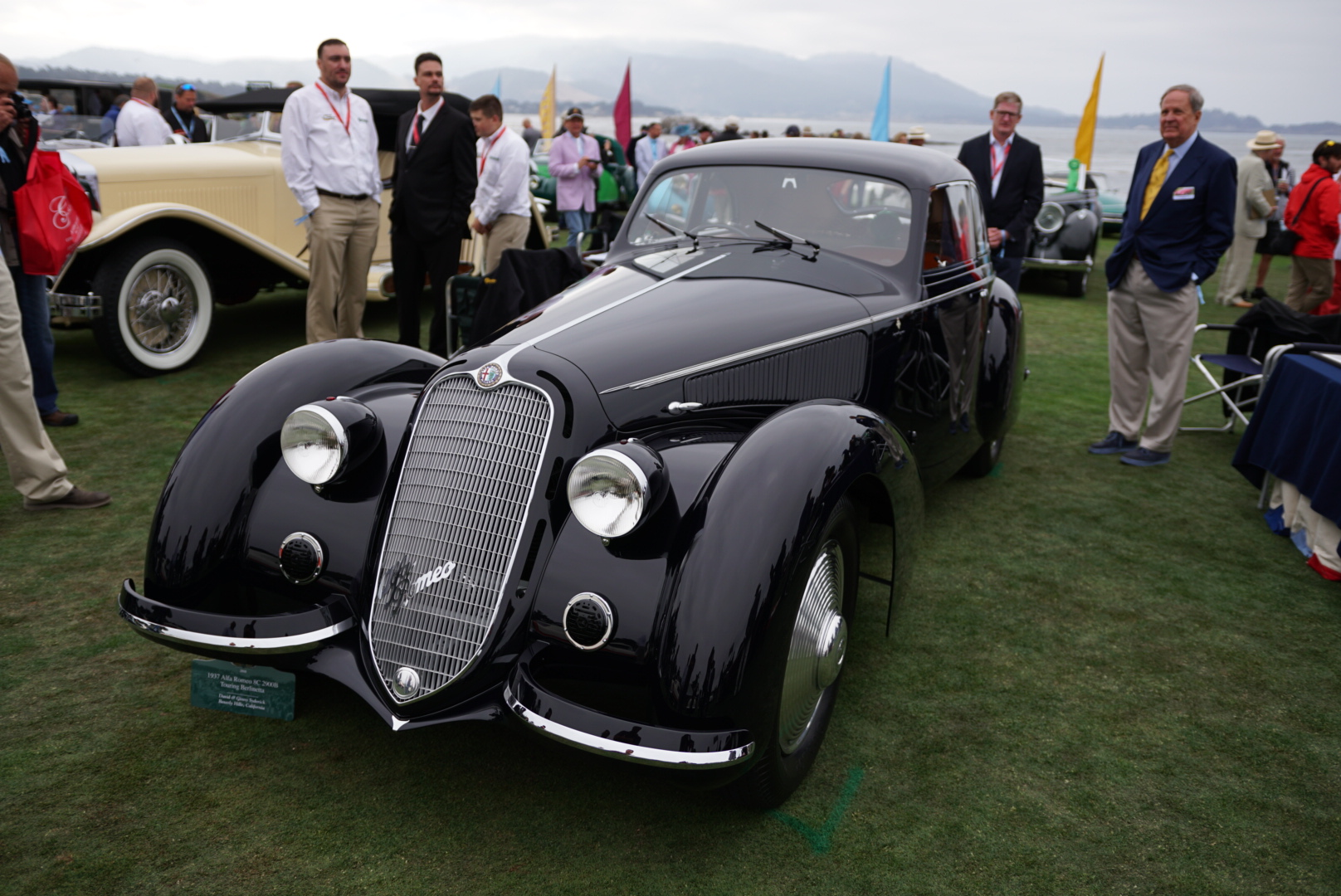 Alfa Romeo 8C 2900 | Best of Show | Pebble Beach Concours d'elegance Winner | Photo: Rebecca Nguyen