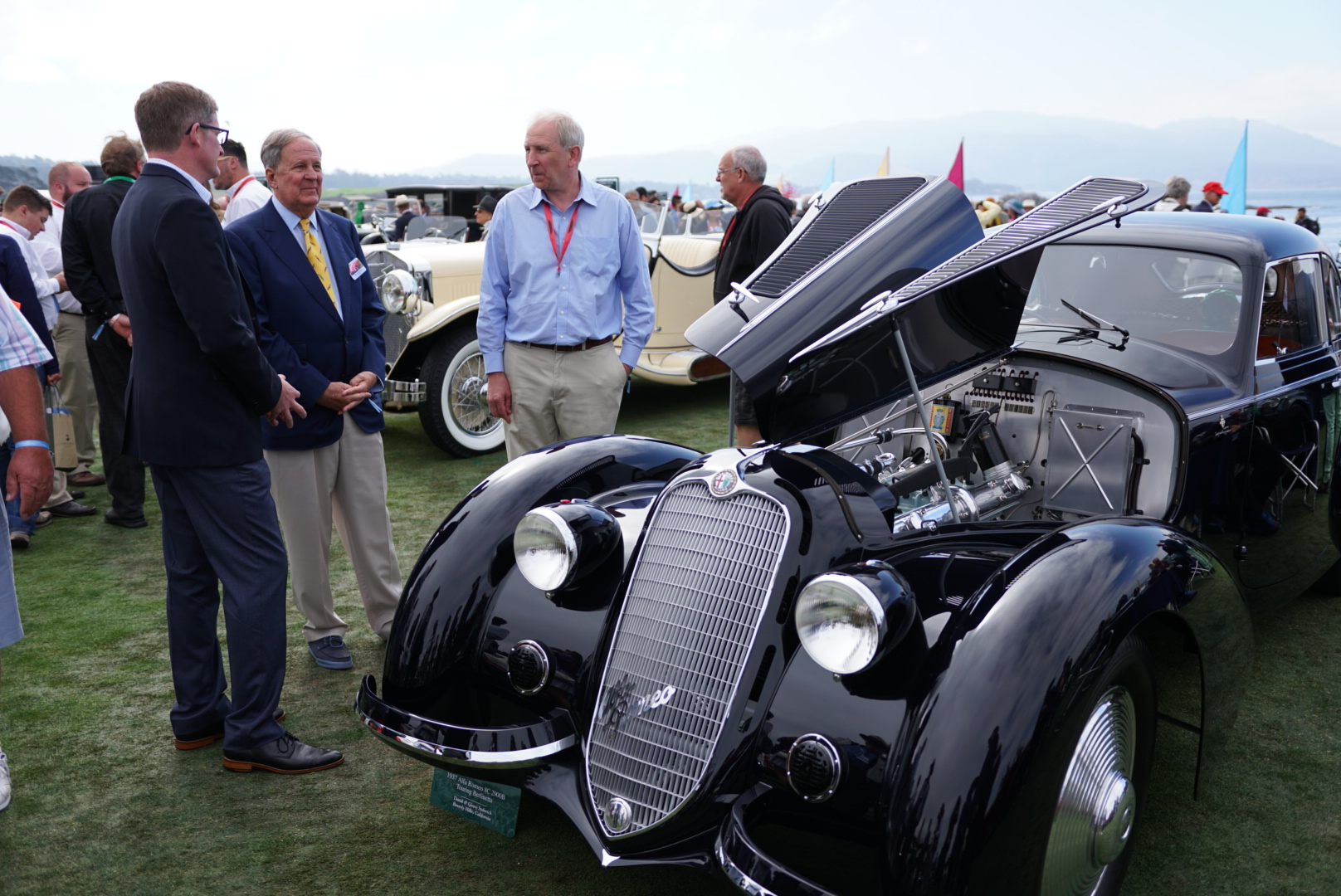 Best of Show - Alfa Romeo 8C 2900