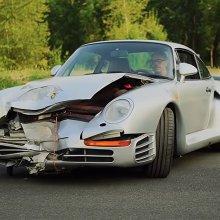 Crashed 1987 Porsche 959 heading to Monterey auction