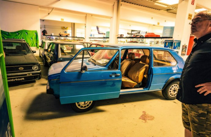 One of the rarest members of this massive Golf family is Josef's pre-production example from 1974. | Volkswagen photo