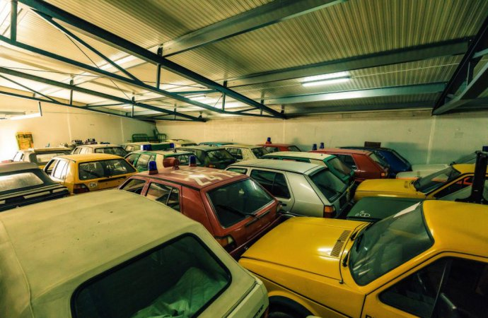 Juza said he would rather sell the entire collection rather than part with a few Golfs. | Volkswagen photo