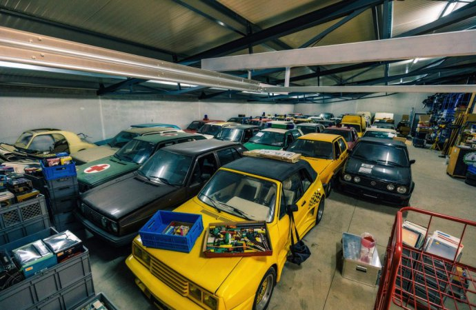 Juza is planning on opening a museum to share his collection with fellow Volkswagen fans. | Volkswagen photo