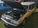 Sleeper Volvo wagon packs a Chevy LS V8 motor and 3.31 Positraction rear end. | William Hall photo