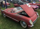 Survivor 1954 Corvette was complete with its original Blue Flame six-cylinder engine. | William Hall photo