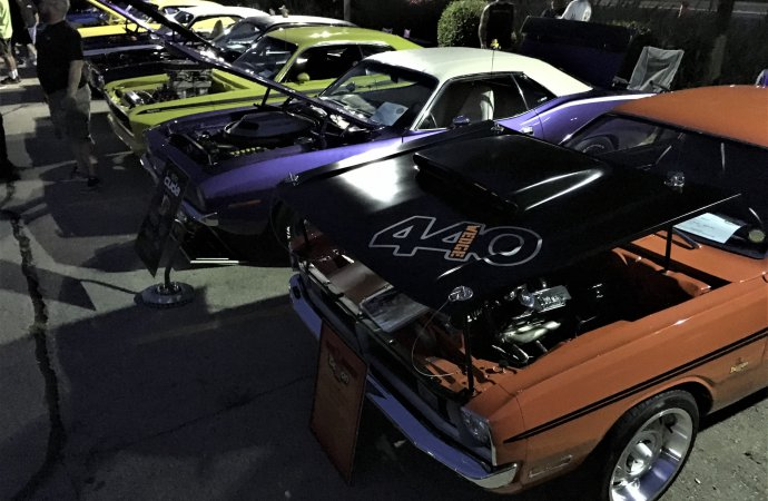 Bring on the night for Mopars under lights car show