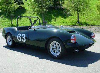 Race-ready 1963 Elva Courier Mk 3