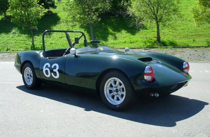 Race-ready 1963 Elva Courier Mk 3