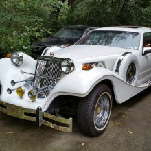 Kit car based on '88 Mercury Cougar