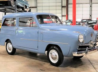 Tiny oddity 1950 Crosley wagon