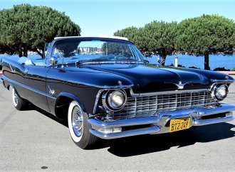 Chrysler Crown Imperial convertible fresh from Pebble Beach Concours