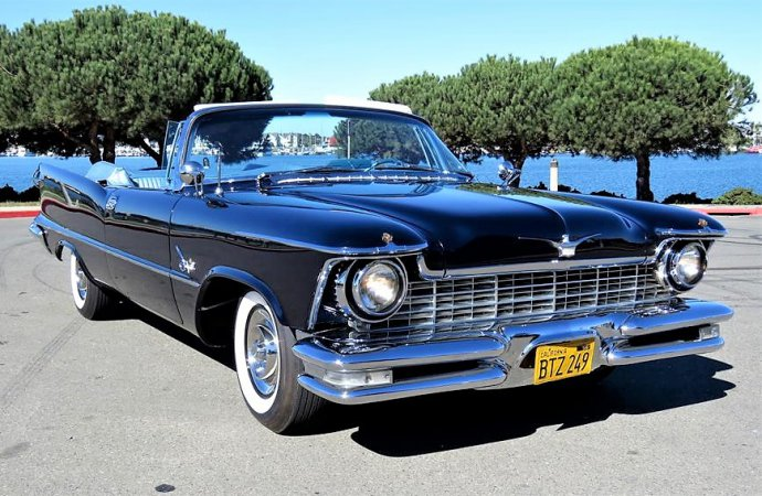 Chrysler Crown Imperial convertible fresh from Pebble ...