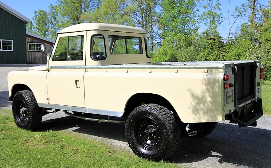 Land Rover Truck >> Adventure Ready Land Rover Pickup With Nut And Bolt Restoration