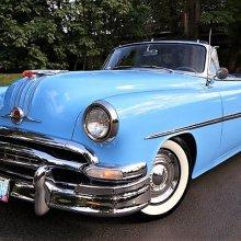 Resto-mod 1954 Pontiac convertible