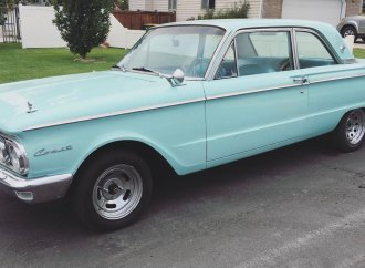 'Barn-found' 1962 Mercury Comet still has very low mileage