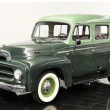 Rare survivor 1953 International Travelall passenger truck