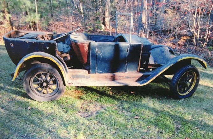 1928 Fiat needs its restoration completed