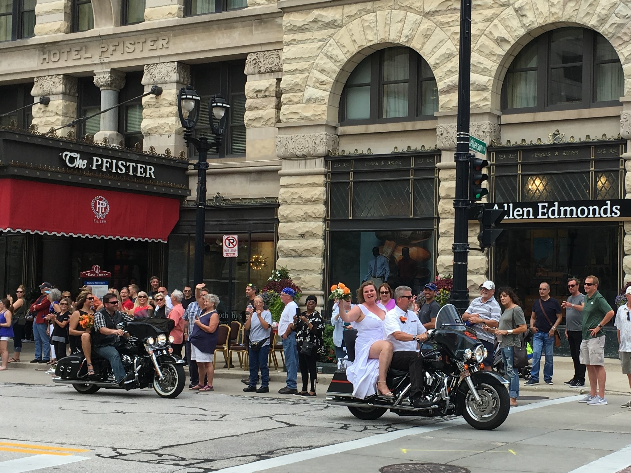 Harley Davidson Parade: Just When We Need It, Harley-Davidson Throws A Motorcycle