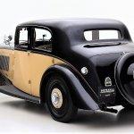 1937 Bentley saloon back