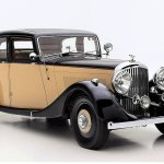 1937 Bentley saloon front