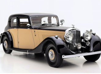 Sporting elegance: Derby Bentley is original pre-war example