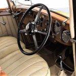 1937 Bentley saloon interior