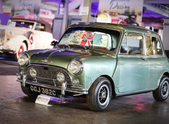 Paul McCartney's Mini sets record at Worldwide's Auburn auction