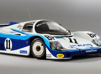 RM Sotheby's auctioning 1983 Porsche 956 Group C race car