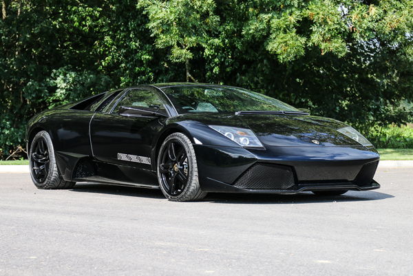 One of just 20 built, this 2007 Lamborghini Murcielago LP640-4 Versace Edition will soon be on Silverstone Auctions' block. | Silverstone Auctions photo