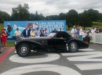 It's a Bugatti bonanza at 36th Lime Rock Historic Festival