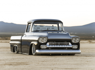 Barrett-Jackson countdown: Custom 1958 Chevrolet Apache pickup
