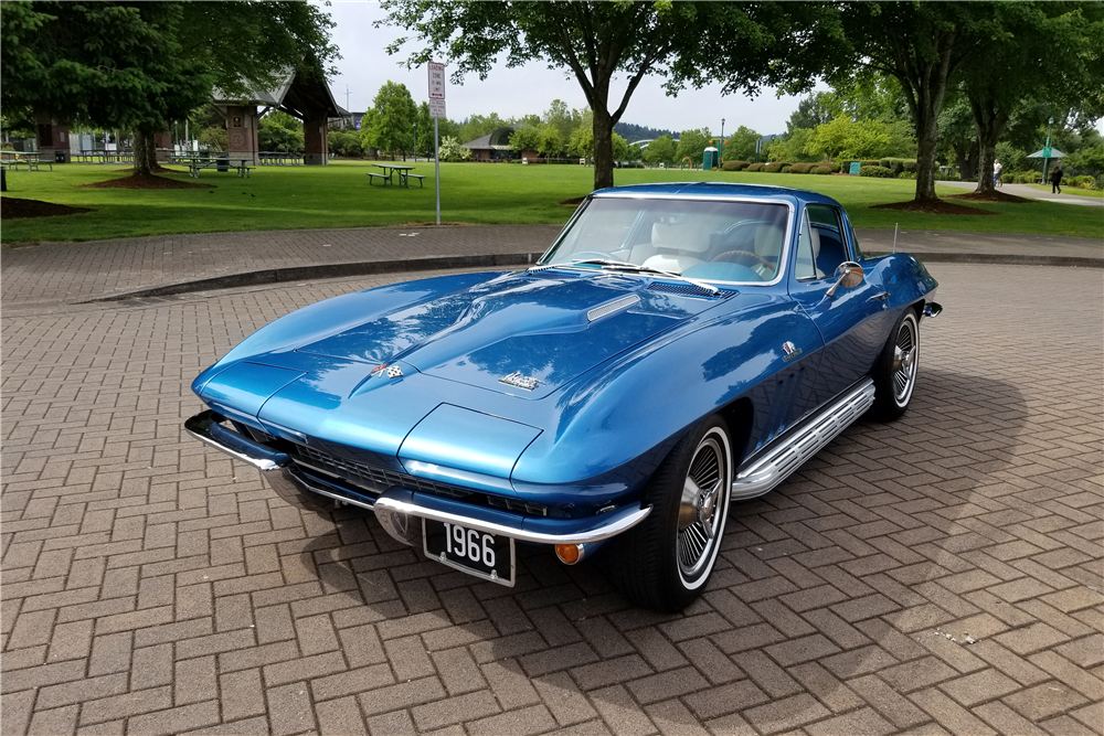 This 1966 Chevrolet Corvette will be on the block at Barrett-Jackson's upcoming auction in Las Vegas. | Barrett-Jackson photo