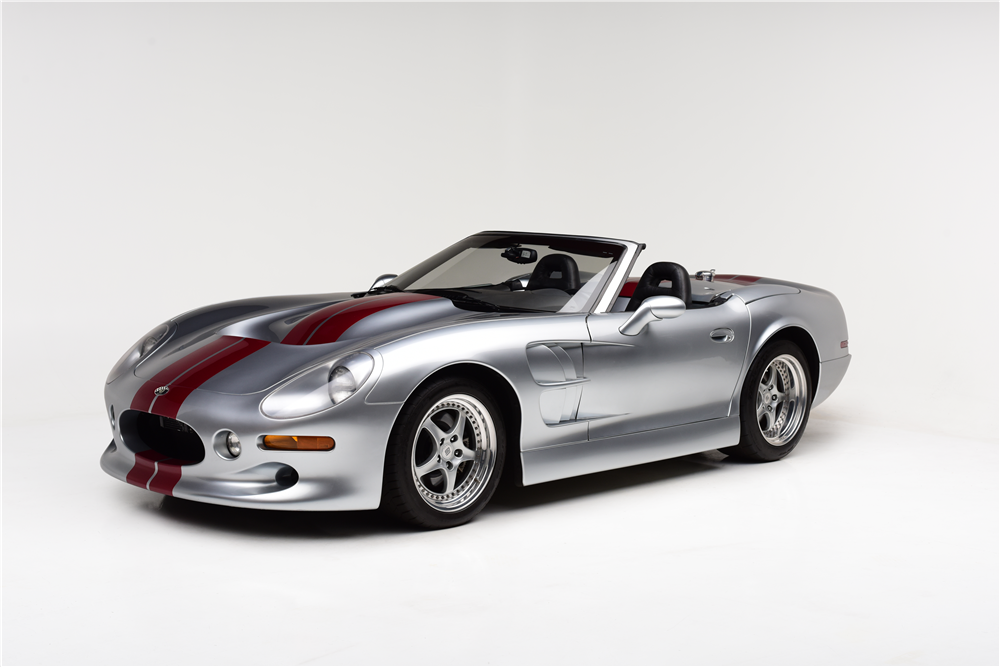 Bidders will have a chance to take this 1999 Shelby Series 1 home from the Barrett-Jackson Las Vegas auction. | Barrett-Jackson photo
