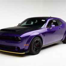 Barrett-Jackson countdown: 2018 Dodge Challenger SRT Demon