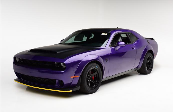 Barrett-Jackson countdown: 2018 Dodge Challenger SRT Demon