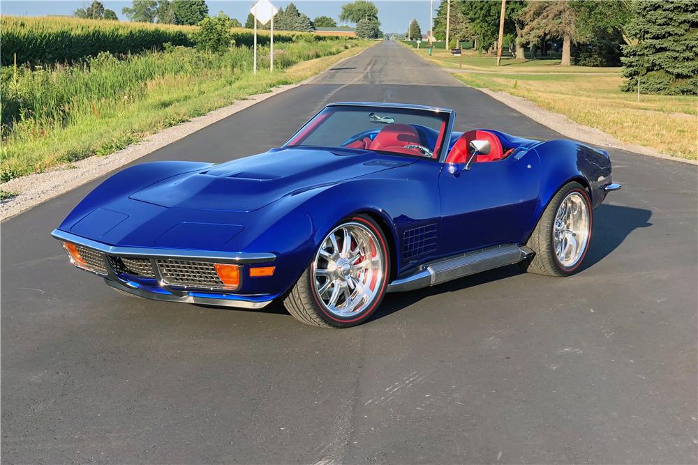 This 1972 Chevrolet Corvette nicknamed the