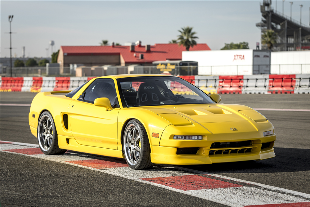 This customized 1991 Acura NSX will be on the Barrett-Jackson block in Las Vegas later this month. | Barrett-Jackson photo