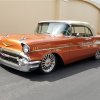 Barrett-Jackson countdown: Custom 1957 Chevrolet Bel Air convertible