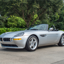 Barrett-Jackson countdown: BMW Z8 convertible
